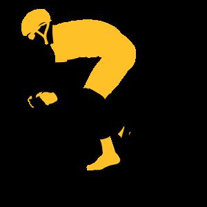 Sprinten Radfahrer 2 Farben