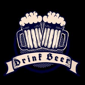 Drink Beer Banner Logo