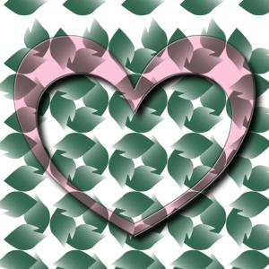 romantisches Herz