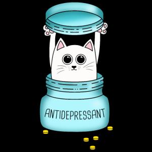 Katze Stubentiger Antidepressant