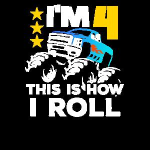 Monster Truck Junge Mädchen Geschenk Monstertruck