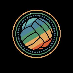 Retro Beach Volleyball Geschenk   Volleyballer