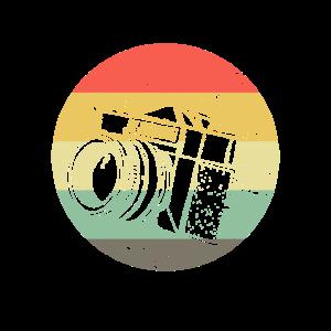 Retro Fotograf Geschenk | Fotografie Kamera