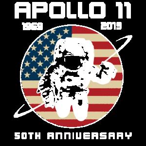 Apollo 11 50 Jahrestag 1969 - 2019 Raumfahrt USA