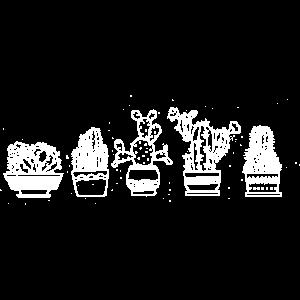 Kakteen Shirt · Zimmerpflanzen · Geschenk