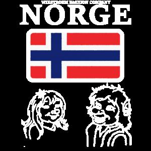 Wikstroem - Norwegen Norge Troll Paar used look