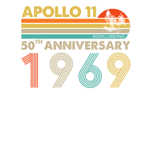 Apollo 11 Mondlandung zum 50-jährigen Jubiläum 1969