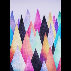 Hipster Dreieck (Geometrie) Abstrakt Design Phone