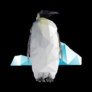 Pinguin Geometrisch