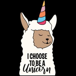 Alpaca Unicorn Lama süßes lustiges Alpaka Einhorn