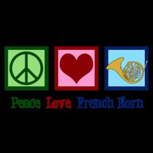 Friedensliebes-französisches Horn