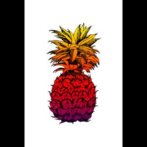 ananas poster I sommer poster