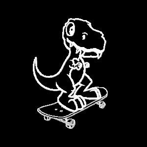 T-REX - Süß - Skateboard - Sweet
