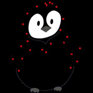 Kluger Pinguin