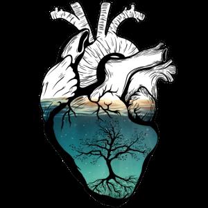 Menschliches Herz Meer