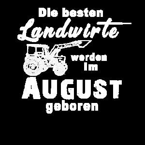 Landwirt August geboren Geburtstag