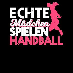 Echte Mädchen Spielen Handball | Handballspielerin