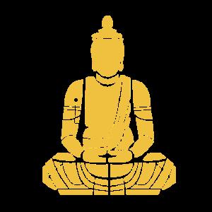 Mediations buddha sitzend