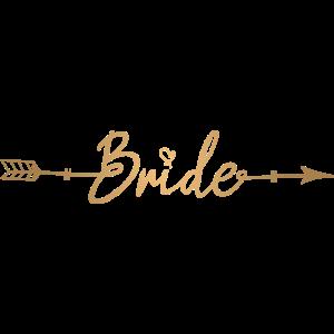 Pfeil Arrow Braut Junggesellinnenabschied