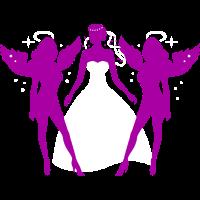 JGA - Braut - Bride - Brides angels - Engel -2C DD