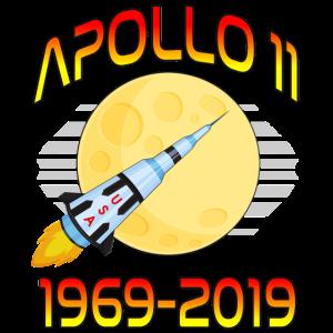 Apollo 11 50. Jahrestag Retro Mondlandung