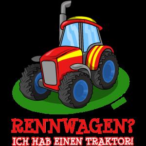 Rennwagen Ich Hab Einen Traktor HARIZ Auto Kind Ju