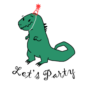 Party Dino T-Rex