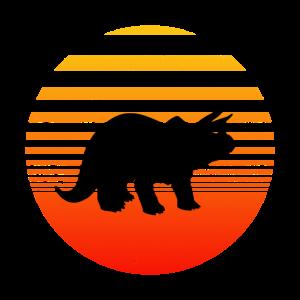 Dino Retro Vintage Dinosaurier