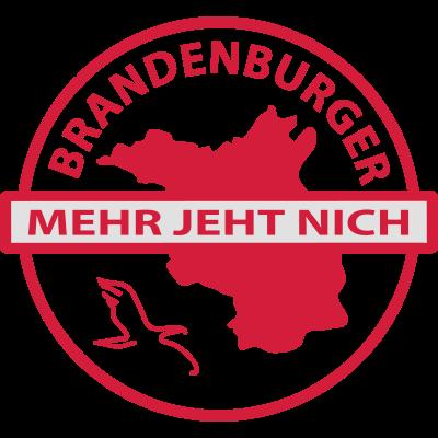 brandenburg - Brandenburger - mehr geht nicht. mehr kann man nicht sein. - Teltow,Potsdam,Nauen,Lübben,Frankfurt,Eberswalde,Cottbus,Brandenburg,Bernau