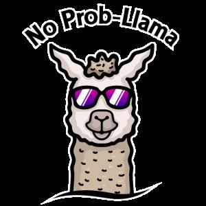 No Prob-Llama - Spaß mit Lamas