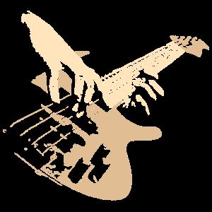 Bass Gitarre Geschenk für Bassist
