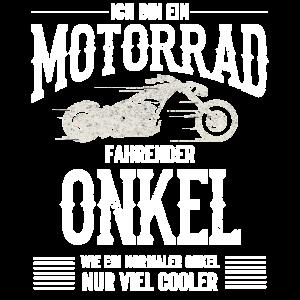 Ich Bin ein Motorrad Fahrender Onkel