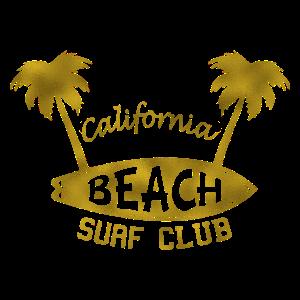 California Beach Surf Club Gold