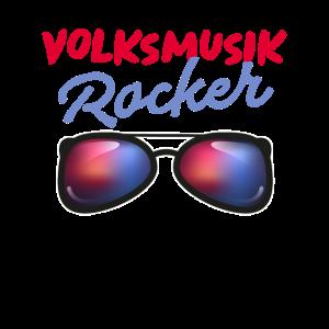 Volksmusik Rocker Schlager Tshirt Damen Herren