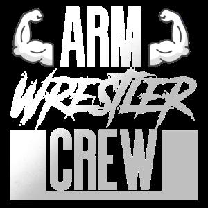 Arm Wrestler Crew Armdrücken
