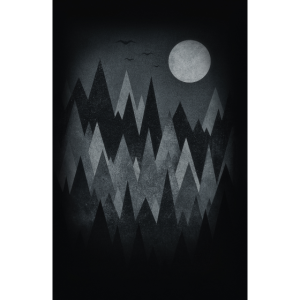 Gruselwald Illustration (Kunst/Dreieck) Handy Case