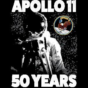 Astronaut Mondlandung Geschenk Astronomie Apollo11