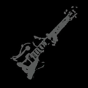 Gitarrenspieler Gitarist Gitarre spielen Geschenk