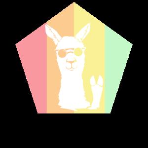 Lama Liebe Tier Alpaka Kostüm Lamas Geschenk