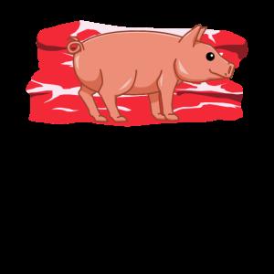 Schwein BBQ Rauch Grillen Grill Fleisch Essen