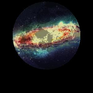 Galaxie Milchstrasse