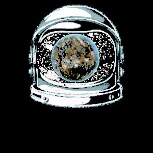 Astronaut Helm Planet