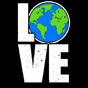 Love Erde Klima Klimawandel Umweltschutz