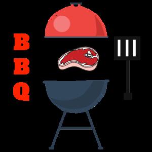 BBQ Grill mit Fleisch