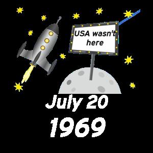 Mondlandung 20 July 1969 der Apollo 11 Raumfahrt