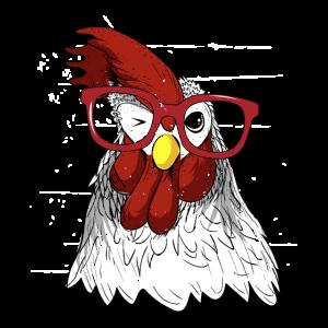Die Hühnerflüstergrafik, Tierdruck