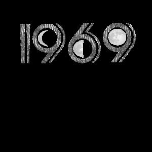 Mondlandung 1969 Shirt 50 Jahre Jubiläum Geschenk