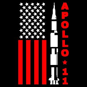 Apollo 11 Mondlandung USA