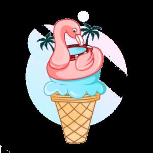 Flamingo Eis