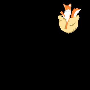 Fuchs Brusttasche Pocket Animal Fennek